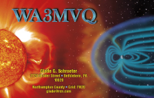 QSL Card Style QSL40 - Photo Credit: NASA